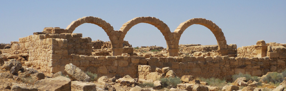 Umm ar-Rasas (Jordanie), ruines d'une maison